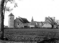 Ancienne abbaye de Cornilly - Côté sud