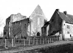 Ancienne abbaye de Cornilly - Côté nord-ouest