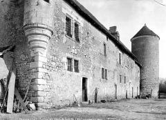 Ancienne abbaye de Cornilly - Pavillon
