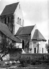 Eglise Sainte-Julitte Saint-Cyr£ - Abside et clocher