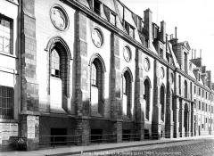 Ancienne abbaye Sainte-Geneviève, actuel lycée Henri IV - Façade ouest