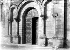 Eglise Notre-Dame la Blanche - Portail ouest