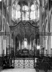 Ancienne cathédrale Saint-Etienne - Grille du choeur