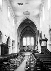 Eglise Saint-Martin - Nef, choeur