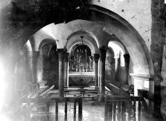 Eglise Saint-Martin - Chapelle, intérieur