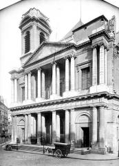 Eglise Saint-Eustache - Façade ouest
