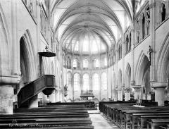 Eglise Notre-Dame de l'Assomption de la Chapelle-sur-Crécy - Nef, choeur