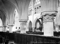 Eglise Notre-Dame de l'Assomption de la Chapelle-sur-Crécy - Nef, bas-côté