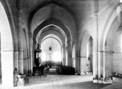 Eglise Saint-Maurice - Nef, choeur