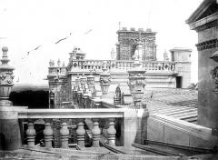 Domaine national de Saint-Germain-en-Laye, actuellement Musée des Antiquités Nationales - Terrasse, toitures