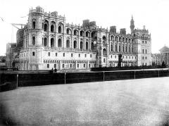 Domaine national de Saint-Germain-en-Laye, actuellement Musée des Antiquités Nationales - Façade nord