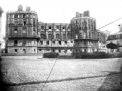 Domaine national de Saint-Germain-en-Laye, actuellement Musée des Antiquités Nationales - Façade de la chapelle