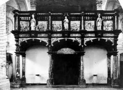 Eglise Saint-Géry - Intérieur, le jubé
