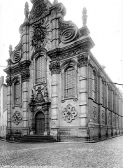 Ancien Collège des Jésuites ou grand séminaire - Chapelle, façade