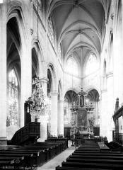 Eglise Saint-Pierre-et-Saint-Paul - Nef, vue de l'entrée