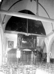 Eglise Saint-Lambert - Nef, vue du choeur