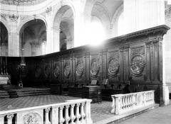 Eglise Saint-Géry - Boiserie du choeur