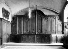 Ancienne collégiale Saint-Pierre - Boiseries la sacristie