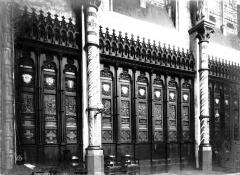 Eglise Saint-Géry - Boiseries