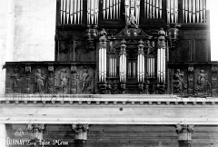 Eglise Sainte-Croix - Buffet d'orgue