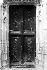 Eglise Sainte-Foy - Porte de la sacristie
