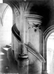 Ancien évêché ou Palais du Tau - Escalier conduisant à la salle synodale