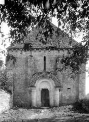 Eglise Saint-Pierre de Loizé - Façade ouest