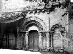 Eglise Saint-Génard - Façade ouest, partie inférieure