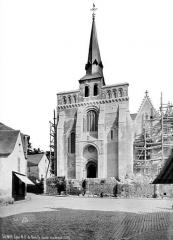 Eglise Notre-Dame-de-Nantilly - Côté ouest