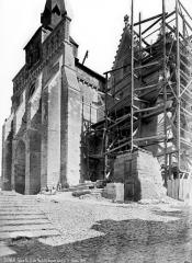 Eglise Notre-Dame-de-Nantilly - Côté sud-ouest