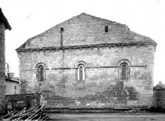 Eglise Saint-Junien de Vaussais - Chevet