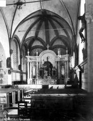 Eglise Saint-Michel - Nef, vue de l'entrée