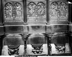 Eglise Saint-Aubin - Stalles