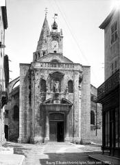 Eglise Saint-Andéol - Façade ouest