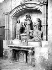 Cathédrale Saint-Sauveur - Autel, retable