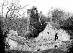 Temple de la Maison-Basse dit de Château-Bas - Façade ouest