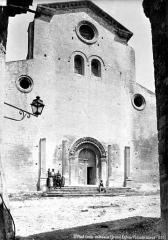 Ancienne cathédrale, actuellement église paroissiale - Façade ouest