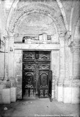 Ancienne cathédrale, actuellement église paroissiale - Portail latéral sud
