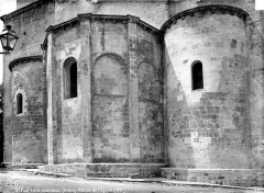 Ancienne cathédrale, actuellement église paroissiale - Abside