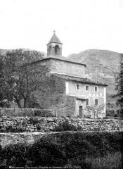 Chapelle Notre-Dame-du-Groseau - Côté sud-ouest