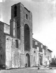 Eglise Notre-Dame-de-Nazareth - Façade sud, clocher