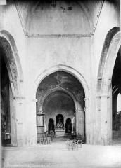 Ancienne cathédrale et cloître - Nef