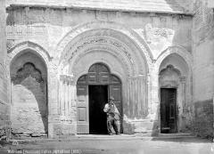 Eglise paroissiale Notre-Dame-de-Nazareth - Portail de la façade sud