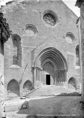 Eglise paroissiale Notre-Dame-de-Nazareth - Façade ouest