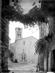Eglise Saint-Pierre-aux-Liens - Façade ouest
