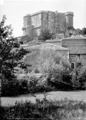 Château et son parc - Côté de la plaine