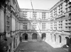 Château et son parc - Façade sur cour