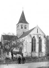 Ancien prieuré de Graville ou ancienne abbaye de Sainte-Honorine - Abside, côté