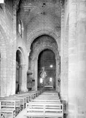 Eglise Saint-Gilles - Nef, choeur