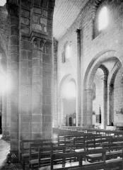 Eglise Saint-Gilles - Nef, bas-côté